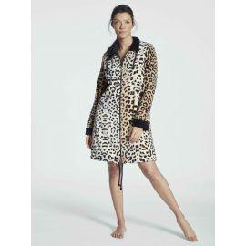 Robe De Chambre Zippée 90cm, Leopard, Taubert 000848-144