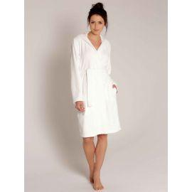 Robe De Chambre Croisée à Capuche 100cm, Bamboo, Taubert 000619-112-1020