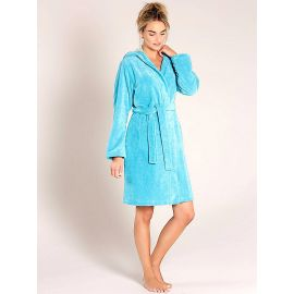Robe De Chambre Croisée à Capuche 100cm, Bamboo, Taubert 000619-112-3690