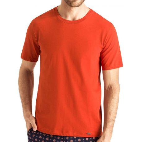 Tee-Shirt Col Rond Manches Courtes 100%Coton, Living Shirt, Hanro 075050-1452
