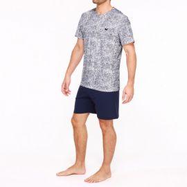 Pyjama Short Sleepwear, Paul, Hom 401846-PN07