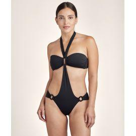 Swimsuit Trikini, Monokini, La Plage Ensoleillée, Aubade TS68-NOIR