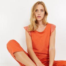 Pyjama 7/8e manches courtes, Mirage, Laurence Tavernier 2111155-MAND