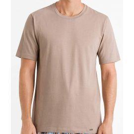 Tee-Shirt Col Rond Manches Courtes 100%Coton, Living Shirt, Hanro 075050-1755