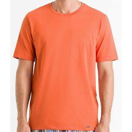 Tee-Shirt Col Rond Manches Courtes 100%Coton, Living Shirt, Hanro 075050-1298