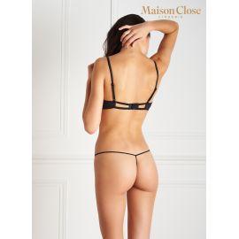 Lot de 2 Micro String (1 Nude et 1 Noir), Le Petit Secret, Maison Close 606560