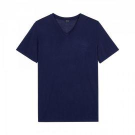 Tee-Shirt Col V, Cocooning, Hom 402184-00RA