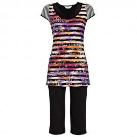 Pyjama Pantacourt Manches Courtes, Ringella 5171213