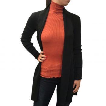 Jacket Long Sleeves Pleated / Flat 70% Wool-30% Silk, Oscalito 3463-020
