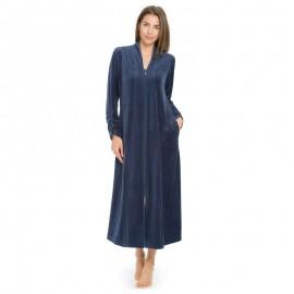 Robe de chambre femme polaire longue - Robe de chambre femme courtelle ...