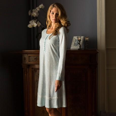 chemise de nuit manches longues ringella 5481001. Black Bedroom Furniture Sets. Home Design Ideas