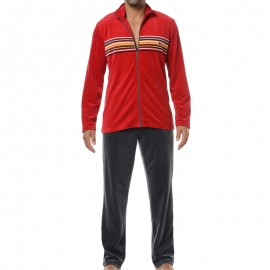 Jogging Zip Long, Sun Riviera, Hom 355031
