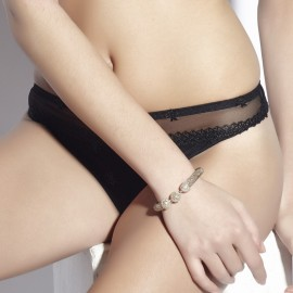 Thong, Chantilly, Lingerie Secret D'Eva 440-60