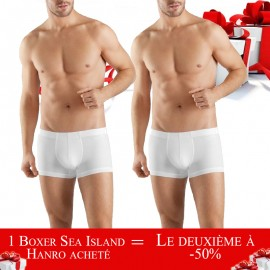 Pack Promotion: Boxer Hanro Sea Island Cotton 073 171 -50% in the second