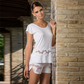 Ensemble de Nuit Short Manches Courtes, Cotton Club 6TQ+7TQ