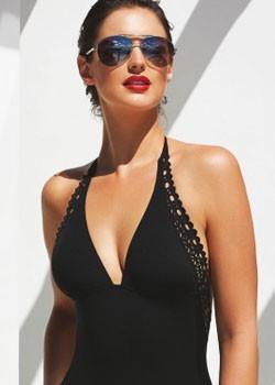 Beach : Ajourage Couture - Black