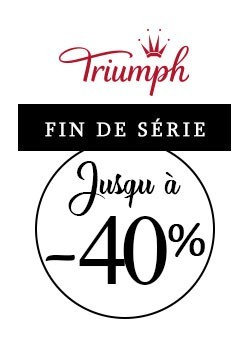 Triumph up to 40% off