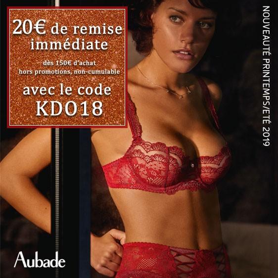 20€ de remise avec le code KDO18 - Aubade - Soleil Nocturne - Gala