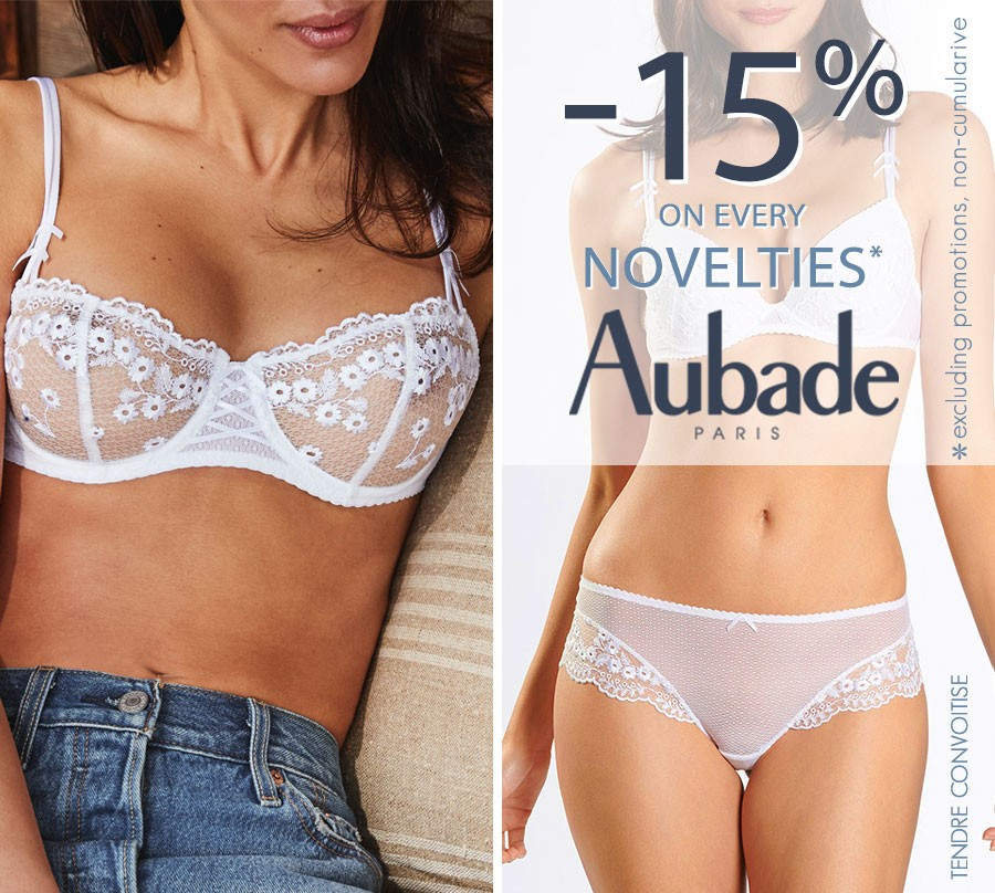 -15% Aubade Novelties