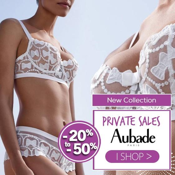 Aubade vente privée collection 2020