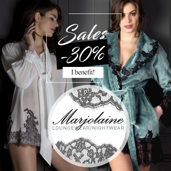 Marjolaine sales nightie desire collection fall winter 2017 2018 nightwear for women