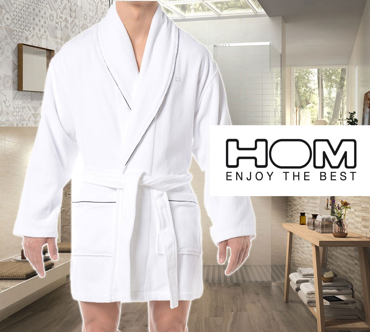 Hom personal bathrobe Kimono made 2016 collection for men