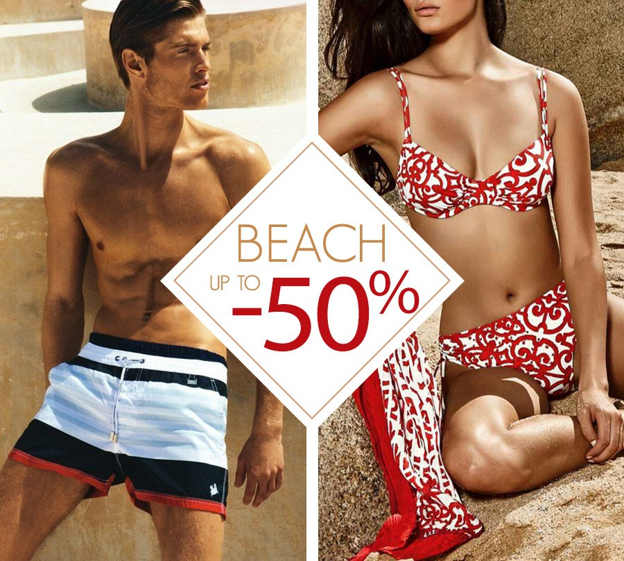 Beach up to -50%
