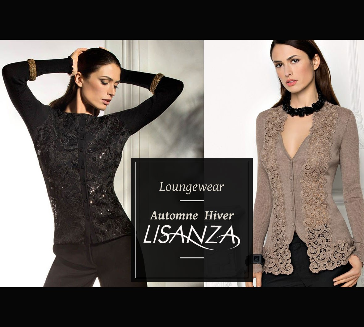 Lisanza cardigan sweater jacket collection 2016 2017
