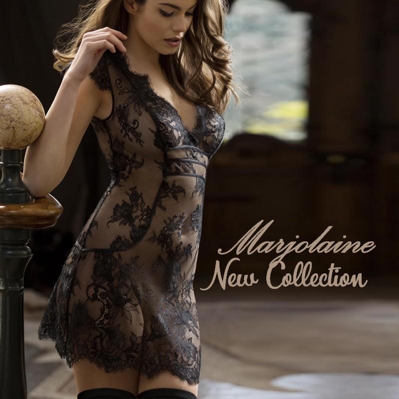 Marjolaine nightie desire collection fall winter 2017 2018 nightwear for women
