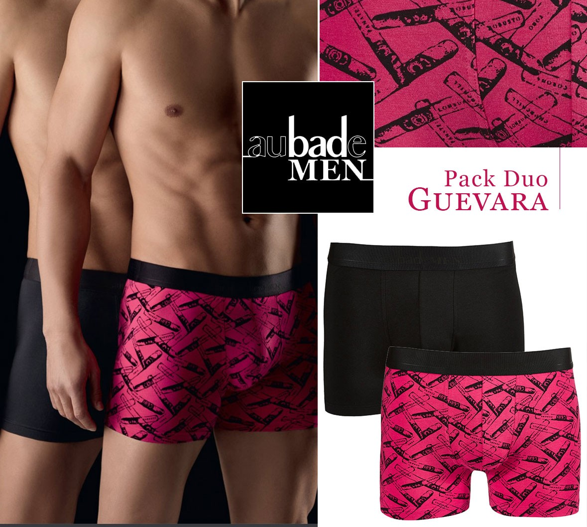 Aubade Men Guevara pack duo Boxer