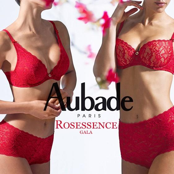 Aubade lingerie 2020 rosessence red gala