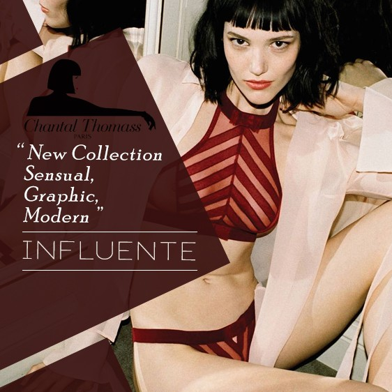 Lingerie Chantal Thomass new collection influente fall winter 18 19