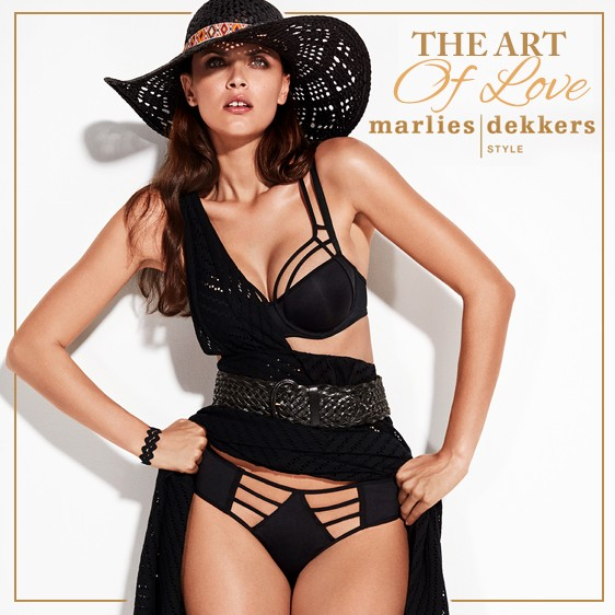 Lingerie Marlies Dekkers The Art Of Love Collection noire 2018