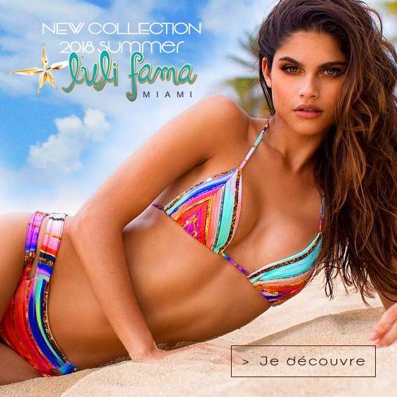 Luli Fama Miami Beach maillot de bain