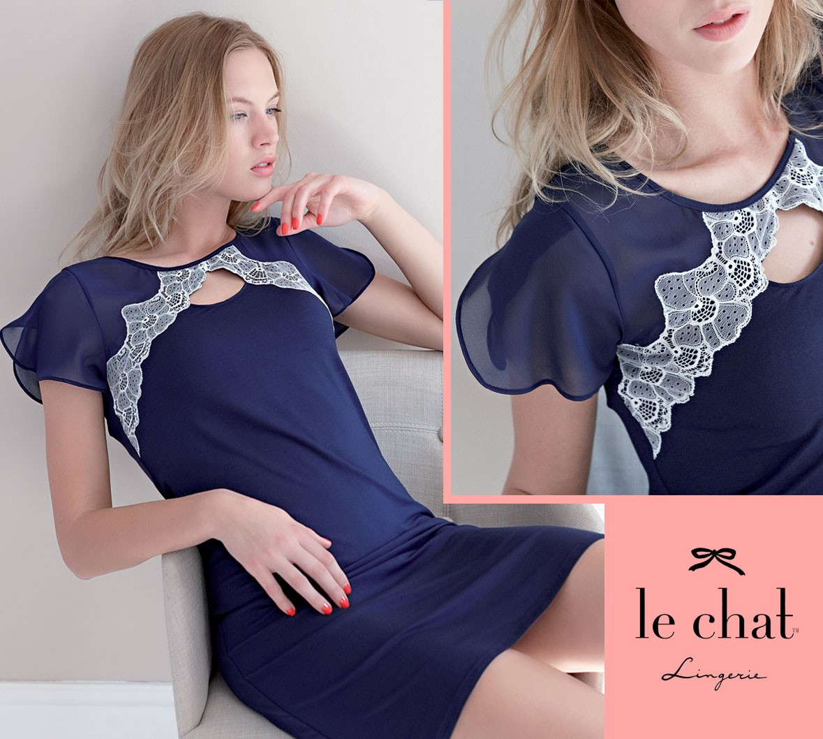 Le Chat nightwear 2016 for woman Palace