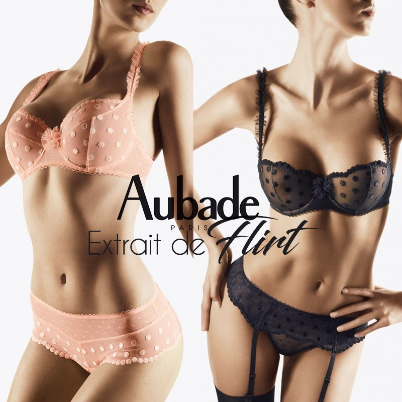 Aubade extrait de flirt collection 2017 2018 lingerie underwear