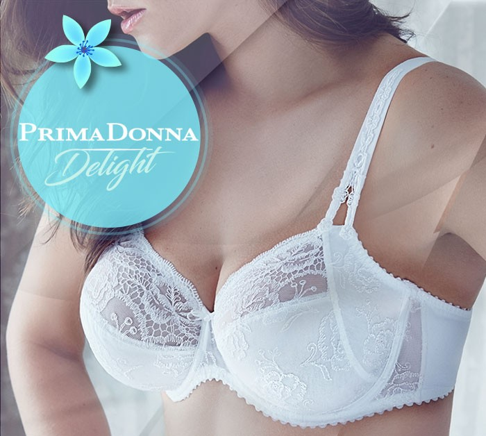 Prima Donna delight blanc Lingerie