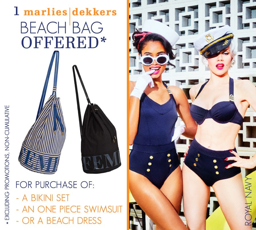 Marlies Dekkers - Beach : Your offered bag!