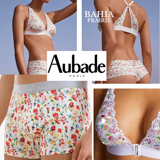 Aubade lingerie Bahia new collection 2020