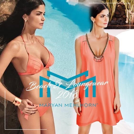 Maryan Mehlhorn nouveauté collection 2018 beachwear