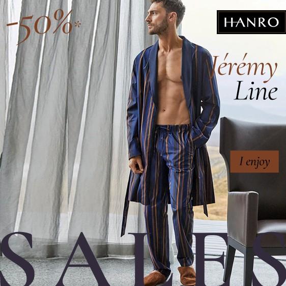 Hanro: line Jeremy sales