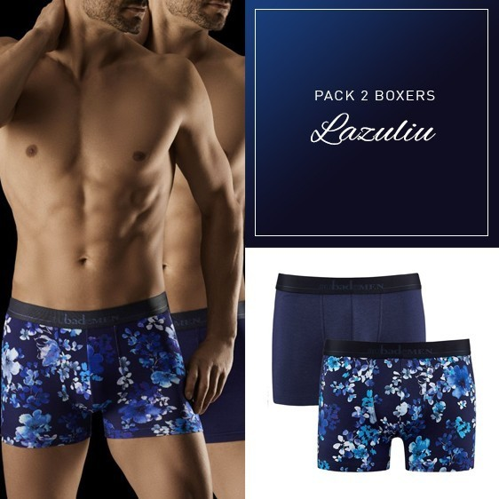 Aubade men pack duo 2 boxers new collection 2018
