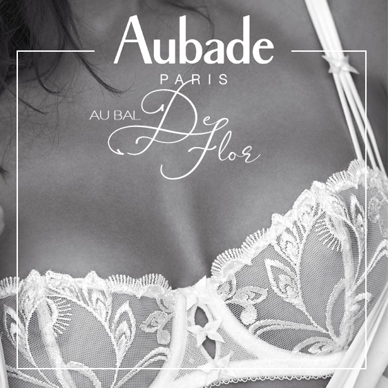 Aubade - Nouvelle collection lingerie 2019 Au Bal de Flor White