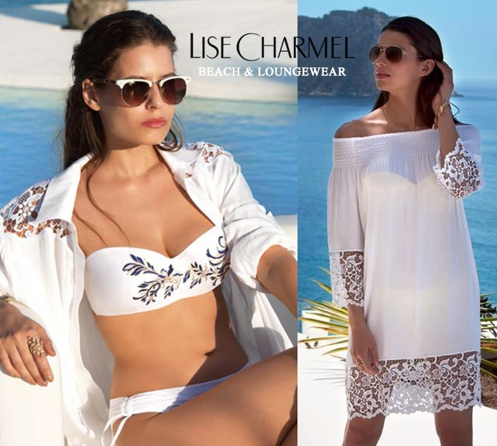 Lise charmel beach 2017 - swimsuit loungewear beachwear