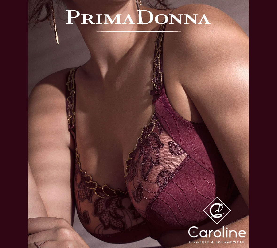 Prima Donna Deauville Ruby Gold Large Ladies Lingerie