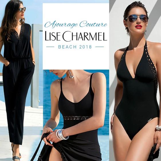 LISE CHARMEL BEACH 2018 - maillot de bain robe ajourage couture