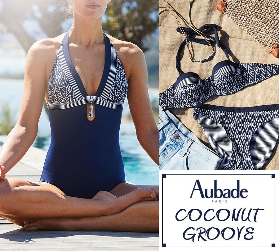 Aubade - Coconut Groove - Navy Blue