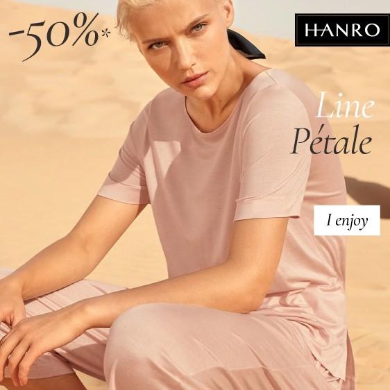 Hanro: line Petale sales