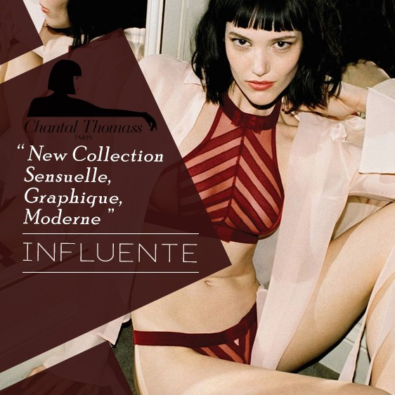 Lingerie Chantal Thomass Nouvelle collection influente auomne hiver 18 19