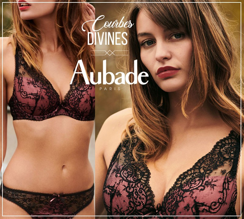 Aubade New collection Courbes Divines